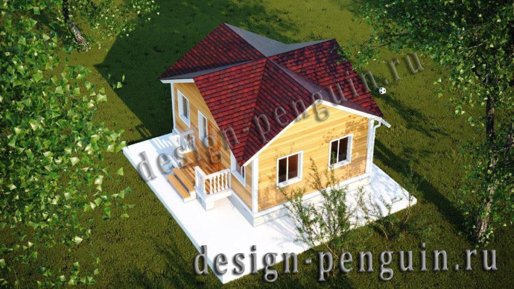 Постройка многощипцовой крыши дома